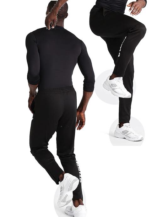 Nilo-Joma-Pantaloni-tuta-Pants-Uomo-con-tasche-Continuativa-Allenamento-Trainin miniatura 6