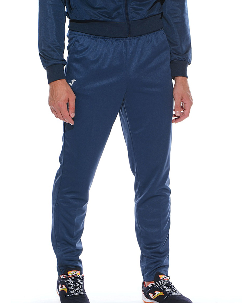 INTERLOCK-Joma-Pantaloni-allenamento-tuta-Training-Pants-Tasche-a-Zip-Uomo miniatura 10