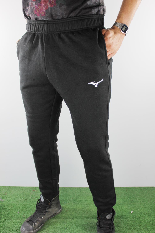 e814b1519abb5 Mizuno Pantaloni tuta Pants Sweat Cuff Nero Uomo cotone con tasche ...