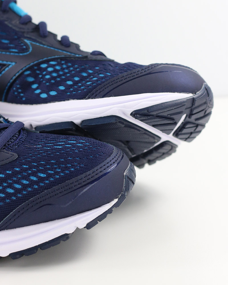 Mizuno-Scarpe-Corsa-Running-Shoes-Sneakers-Trainers-Wave-Rider-22-Blu miniatura 3