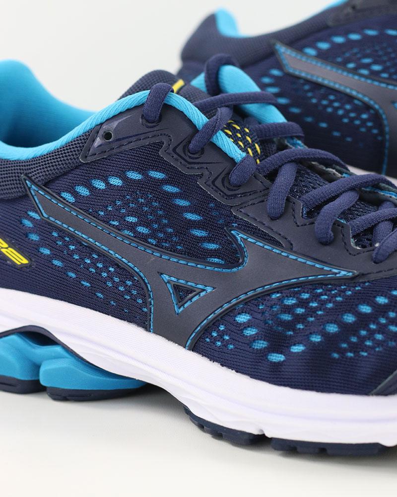 Mizuno-Scarpe-Corsa-Running-Shoes-Sneakers-Trainers-Wave-Rider-22-Blu miniatura 5