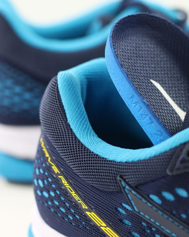 Mizuno-Scarpe-Corsa-Running-Shoes-Sneakers-Trainers-Wave-Rider-22-Blu miniatura 10