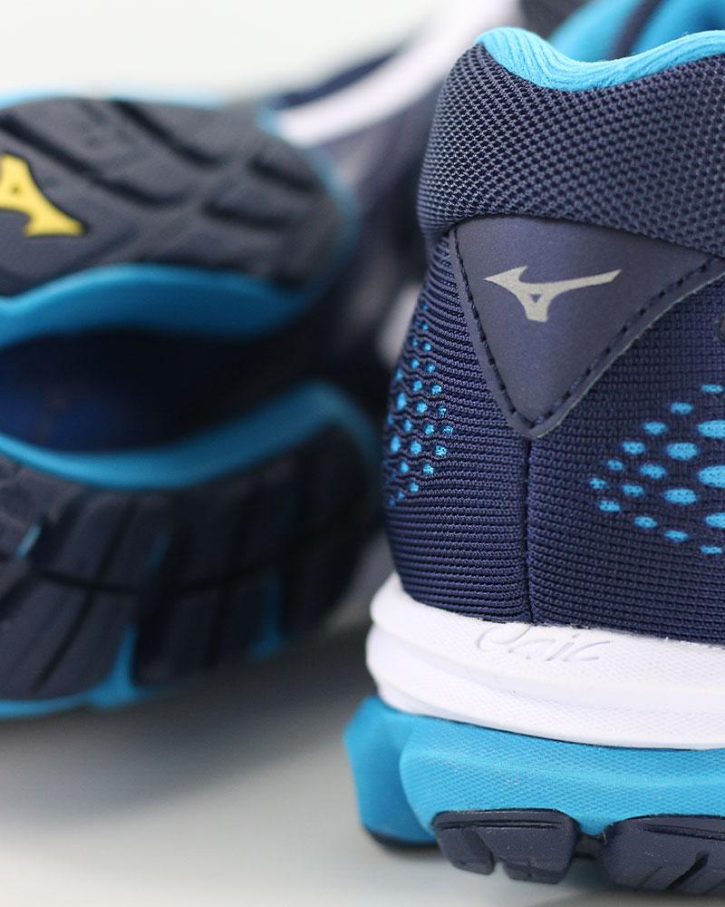 f481e2d3b08ba6 ... Mizuno shoes Corsa Running shoes Sneakers Trainers Wave Rider 22 22 22  blue 0c2b12 ...