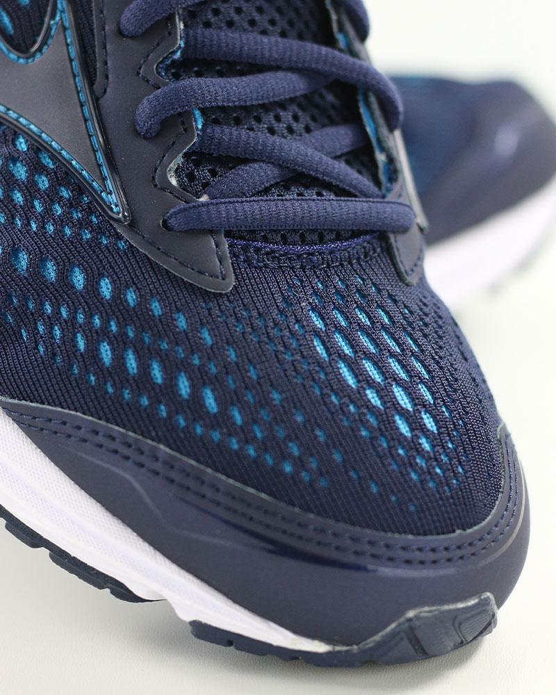 Mizuno-Scarpe-Corsa-Running-Shoes-Sneakers-Trainers-Wave-Rider-22-Blu miniatura 7