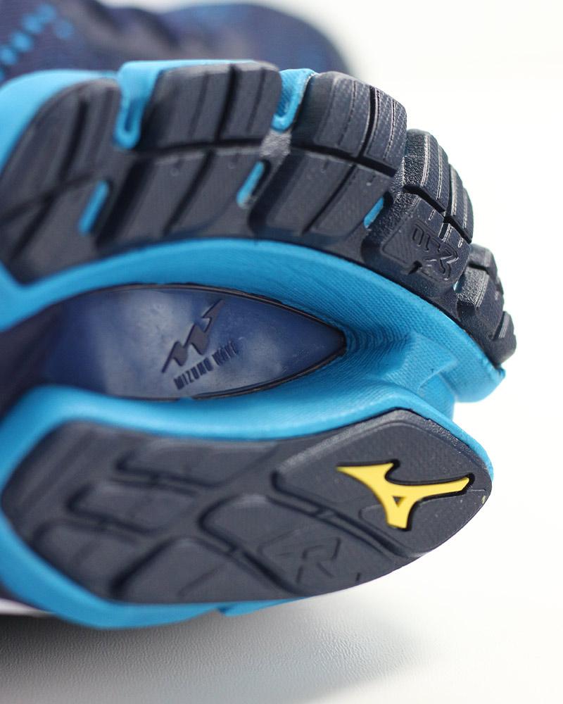 Mizuno-Scarpe-Corsa-Running-Shoes-Sneakers-Trainers-Wave-Rider-22-Blu miniatura 4