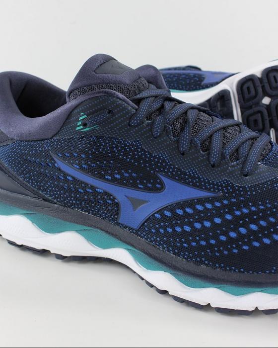 Mizuno Scarpe da Corsa Running Sneakers Trainers Wave Sky 3 Verde