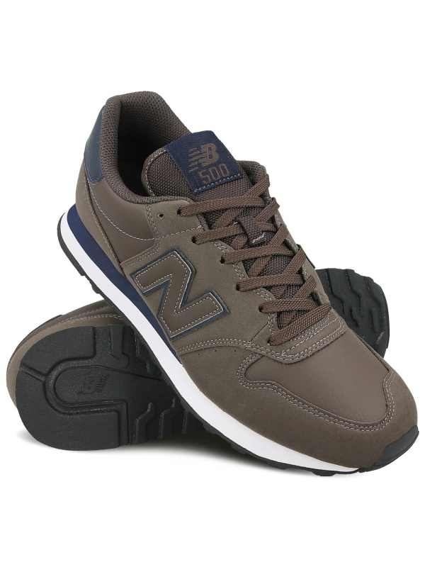 new balance homme marron cuir