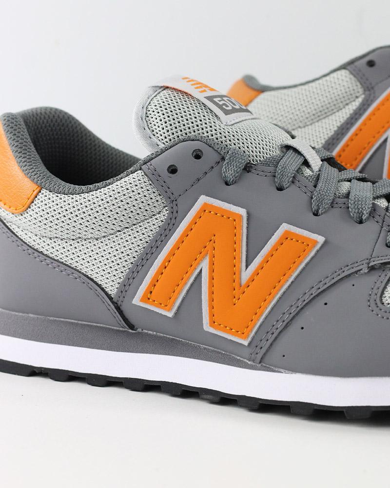 New-Balance-500-Scarpe-Sportive-Sneakers-Lifestyle-Sportswear-SCG-Grigio miniatuur 3