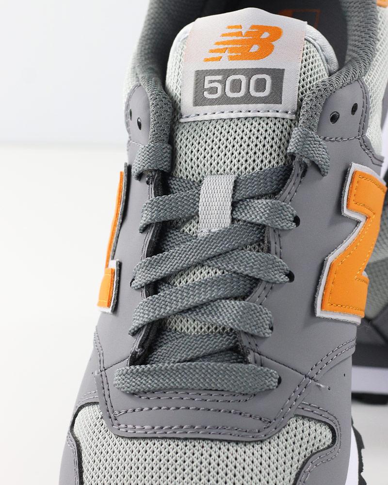 New-Balance-500-Scarpe-Sportive-Sneakers-Lifestyle-Sportswear-SCG-Grigio miniatuur 4