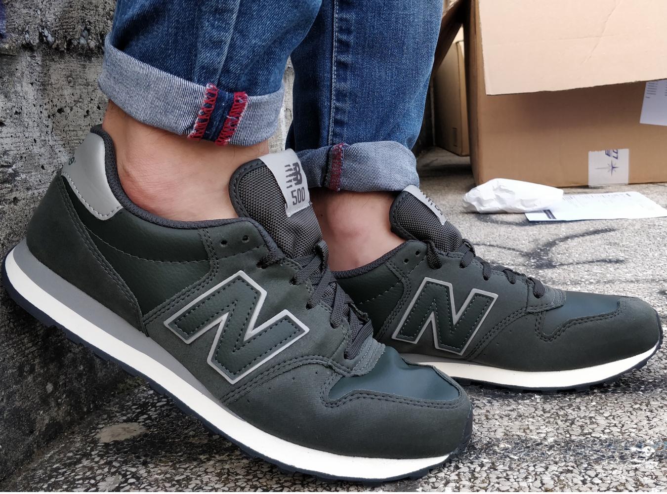 New Balance GM 500 Sport Schuhe Sneakers Boots Shoe Lifestyle sportswear grün
