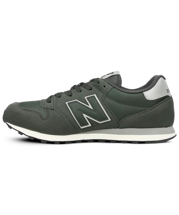 ... australia scarpe sneakers new balance gm 500 uomo sportswear lifestyle verde scuro pelle sport shoes sneakers ...