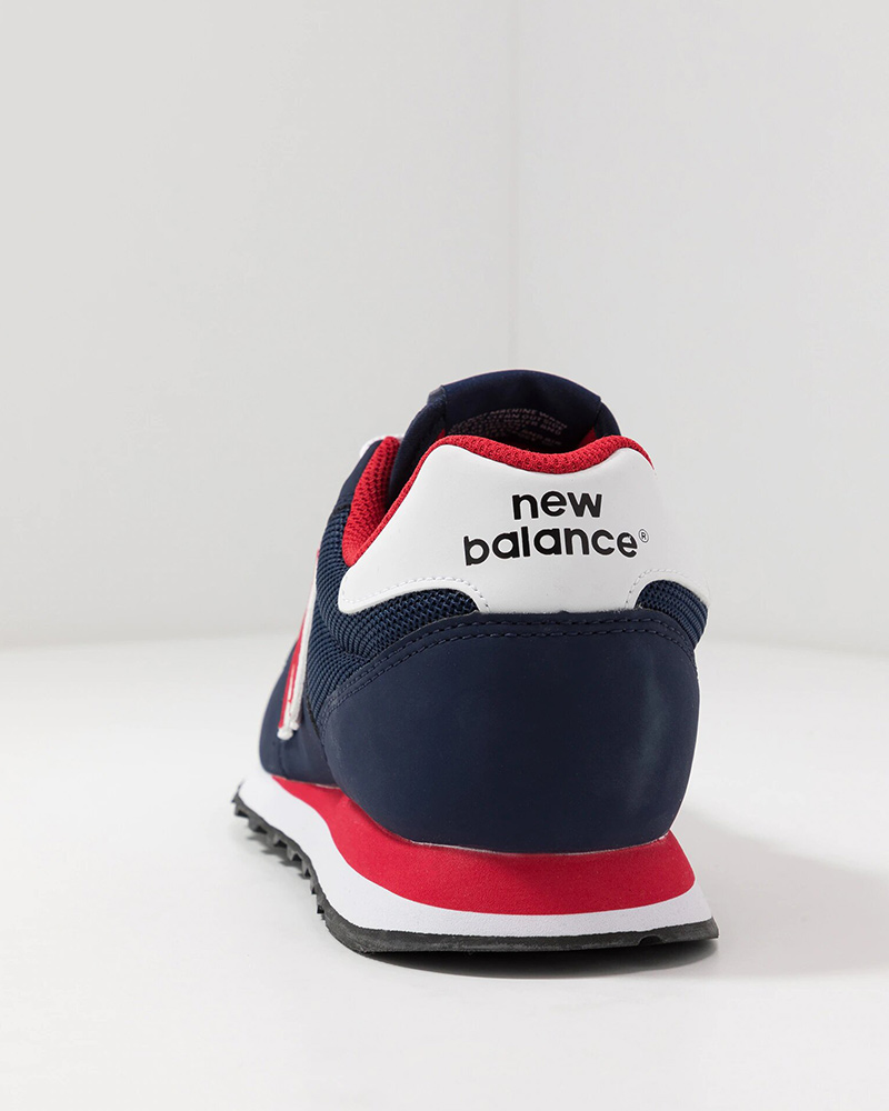 New-Balance-500-Chaussures-sportif-Sport-Shoes-Sneakers-2020-Bleu-rouge miniature 5