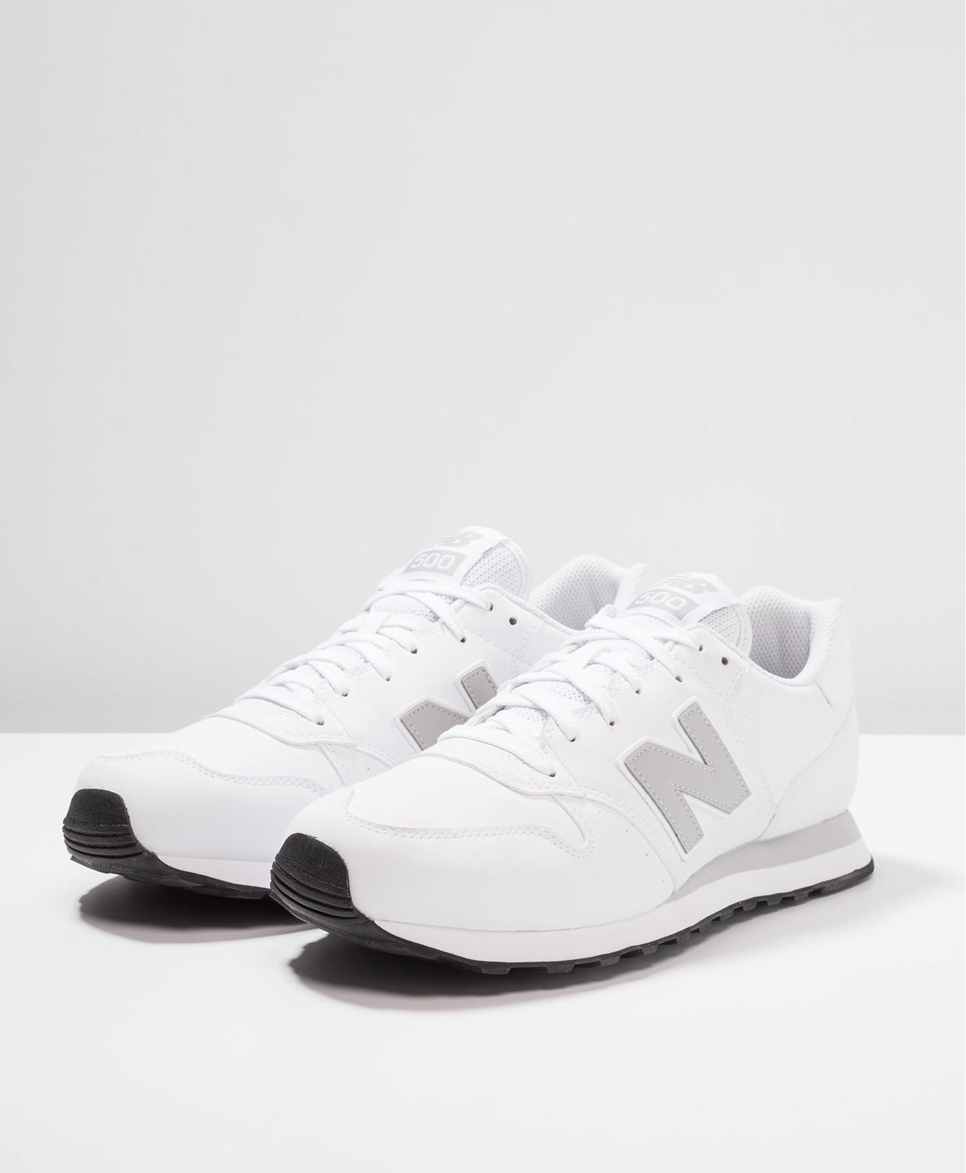 New Balance Gm 500 Sport Schuhe Shoe Sneakers sportswear lifestyle Weiß Silber