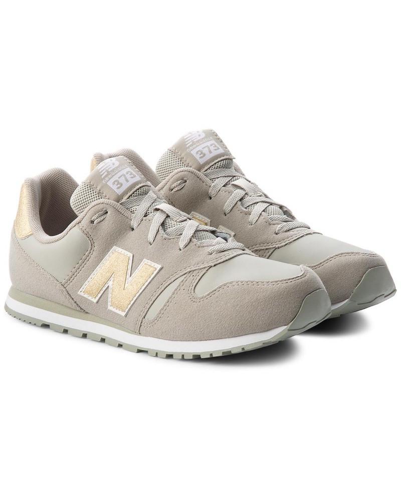 New-Balance-373-Chaussures-sportif-Sportswear-Lifestyle-Garcon-Femme-Gris-or