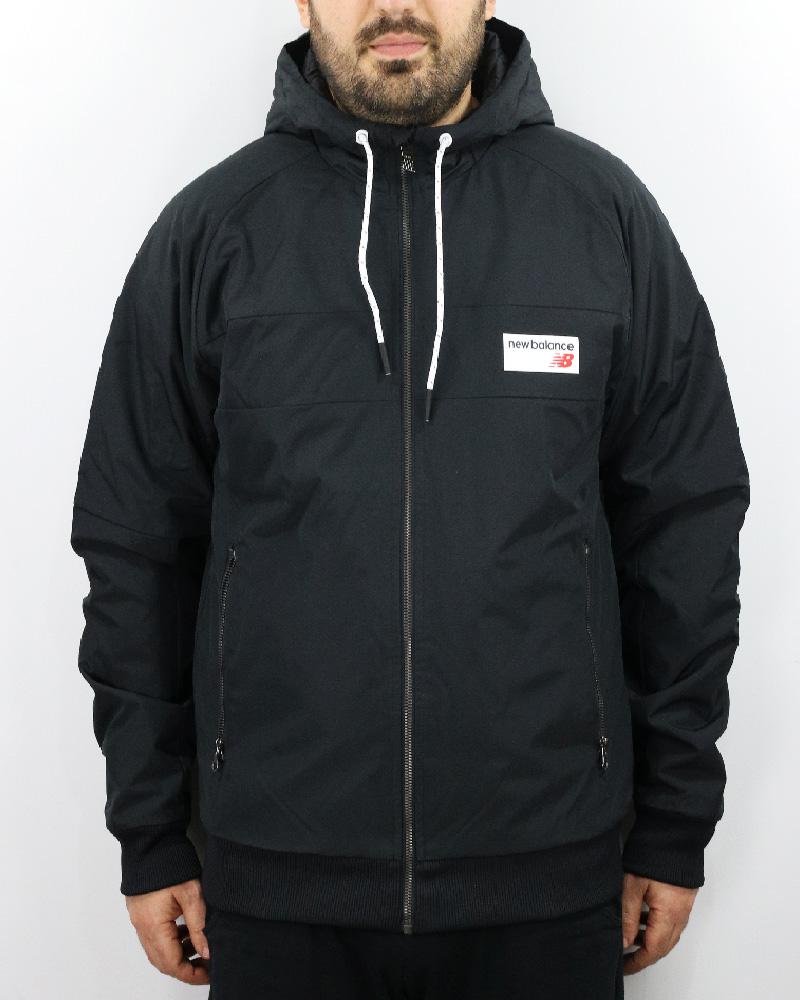 low cost cb58f 78dc9 Details about New Balance Down Bubble Padded jacket Black Athletics  Marathon Winter