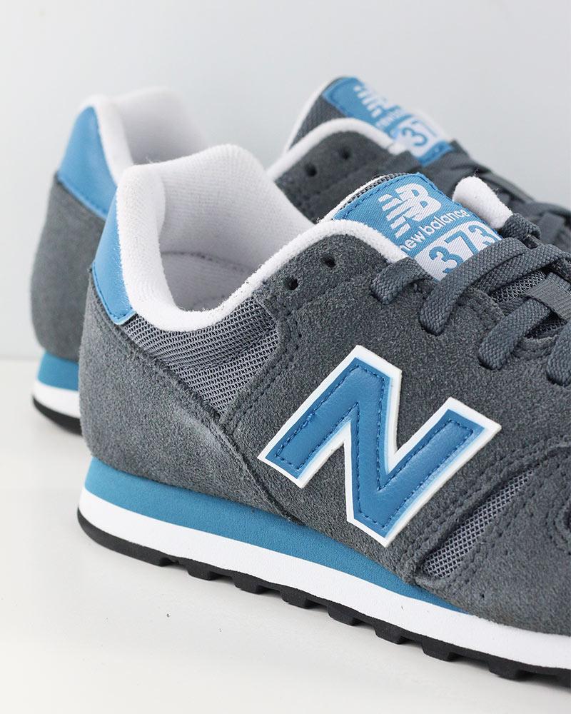 New-Balance-373-Scarpe-Sportive-Sneakers-Lifestyle-Grigio-Blu-Uomo miniature 6