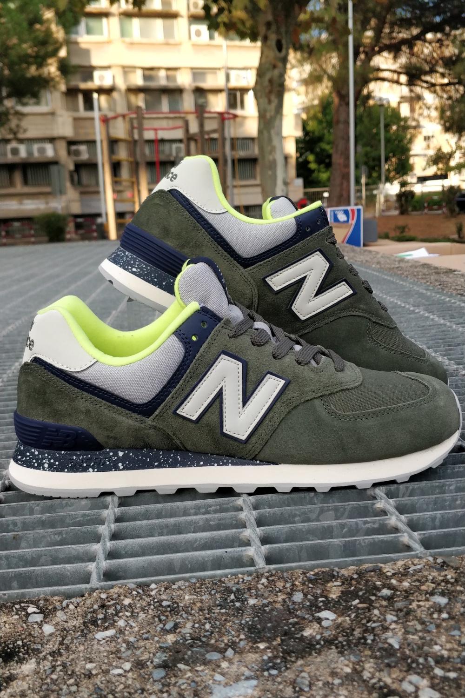 New Balance ML 574 Scarpe Sneakers Sportive Lifestyle Verde