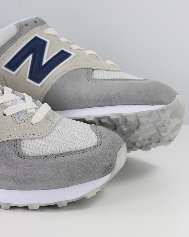 New-Balance-574-Scarpe-Sportive-Sneakers-lifestyle-Grigio-Classics-UJD miniatuur 9