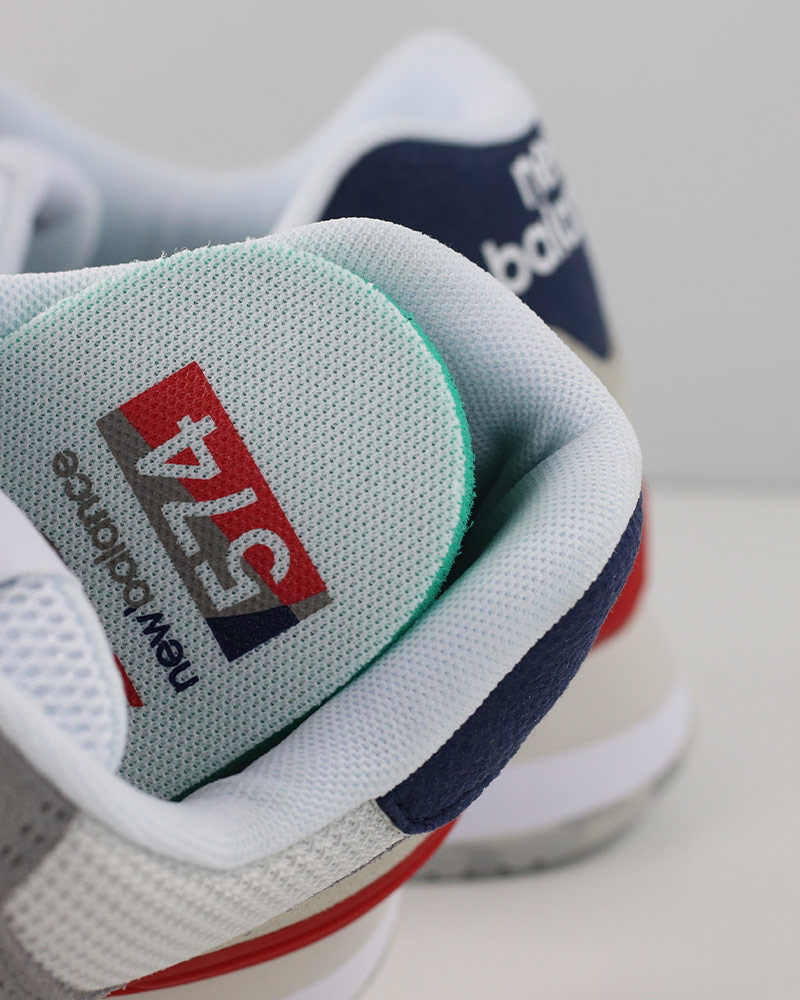 New-Balance-574-Scarpe-Sportive-Sneakers-lifestyle-Grigio-Classics-UJD miniatuur 6