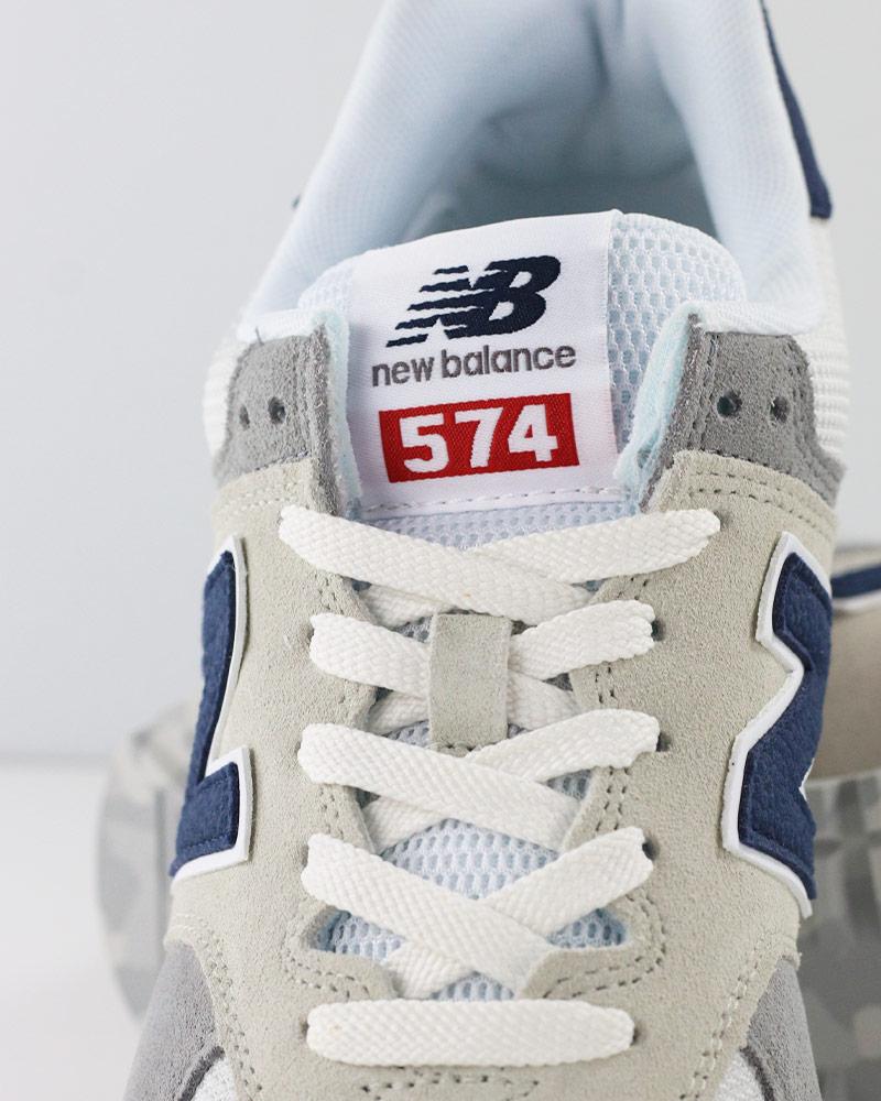 New-Balance-574-Scarpe-Sportive-Sneakers-lifestyle-Grigio-Classics-UJD miniatuur 8