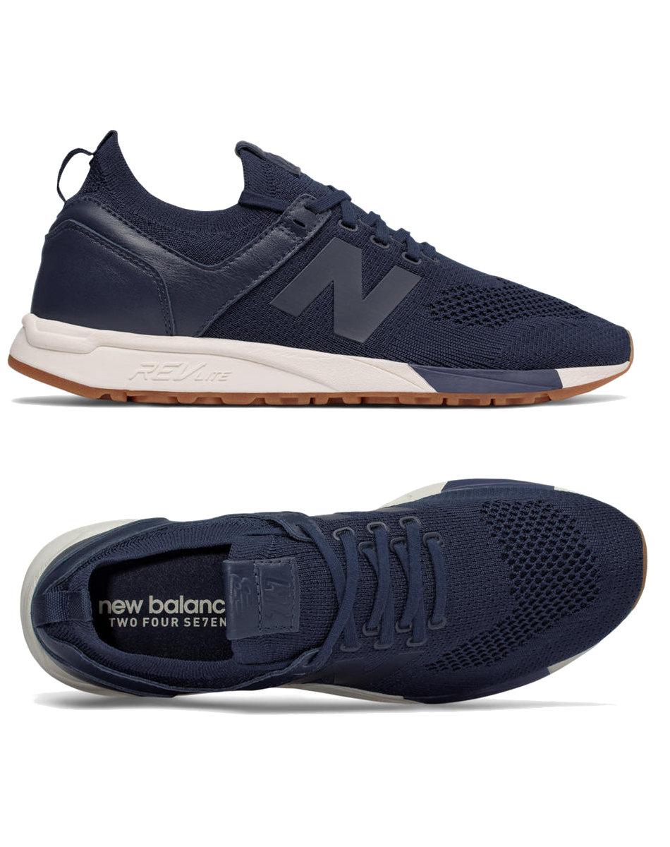 Nouvel Équilibre 247 Sneaker Van Suã¨de wdQ6M
