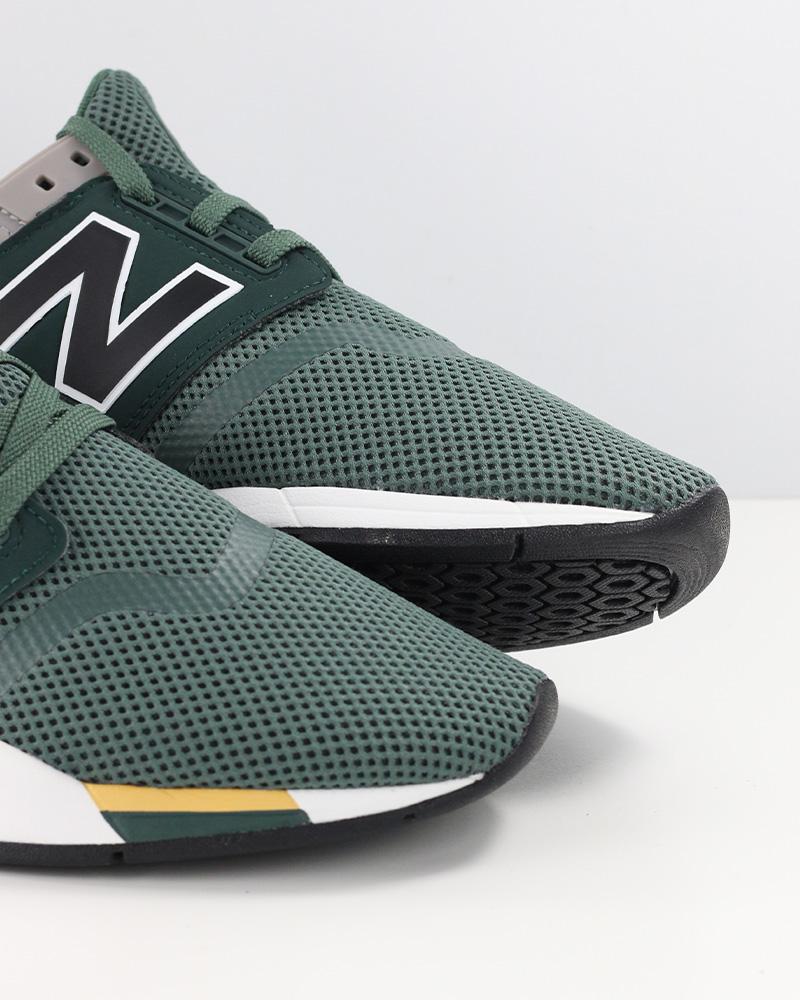7373f8a7f799e New Balance 247 Scarpe Sportive Sneakers FA Verde Sportswear Lifestyle 5 5  di 9 ...