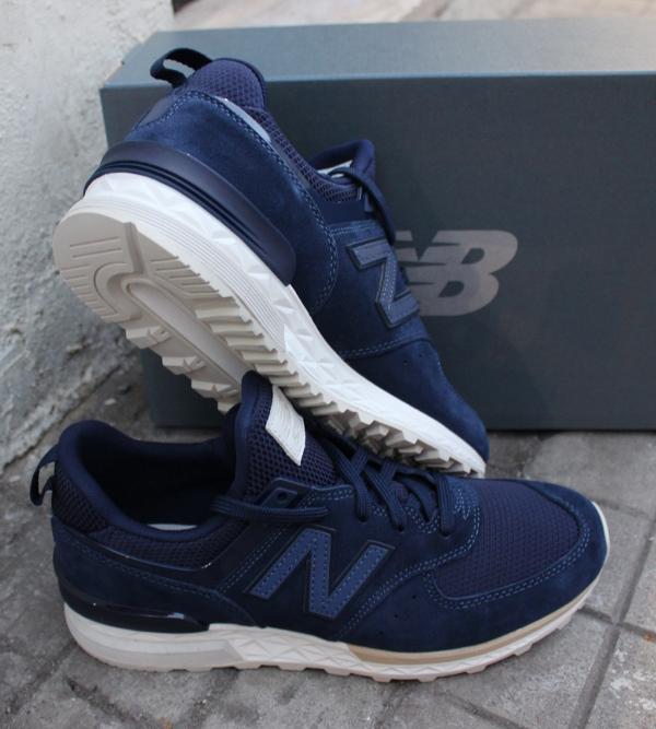 Ms 2018 574 Balance Scarpe Lifestyle New Uomo Sneakers Blu tgfHxqwn6