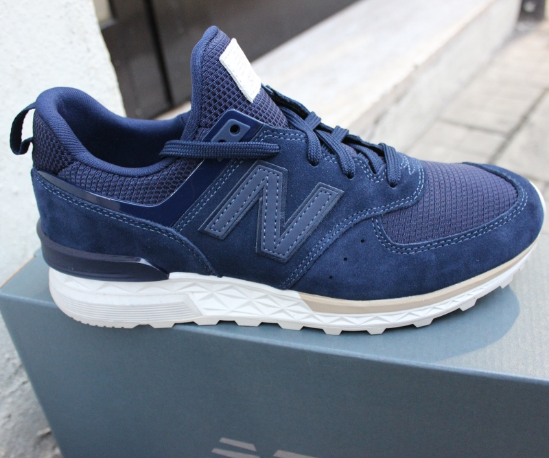 new balance uomo blu ms574