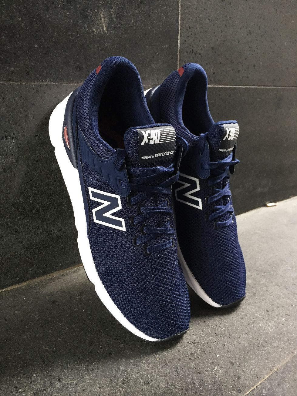x90 new balance uomo blu