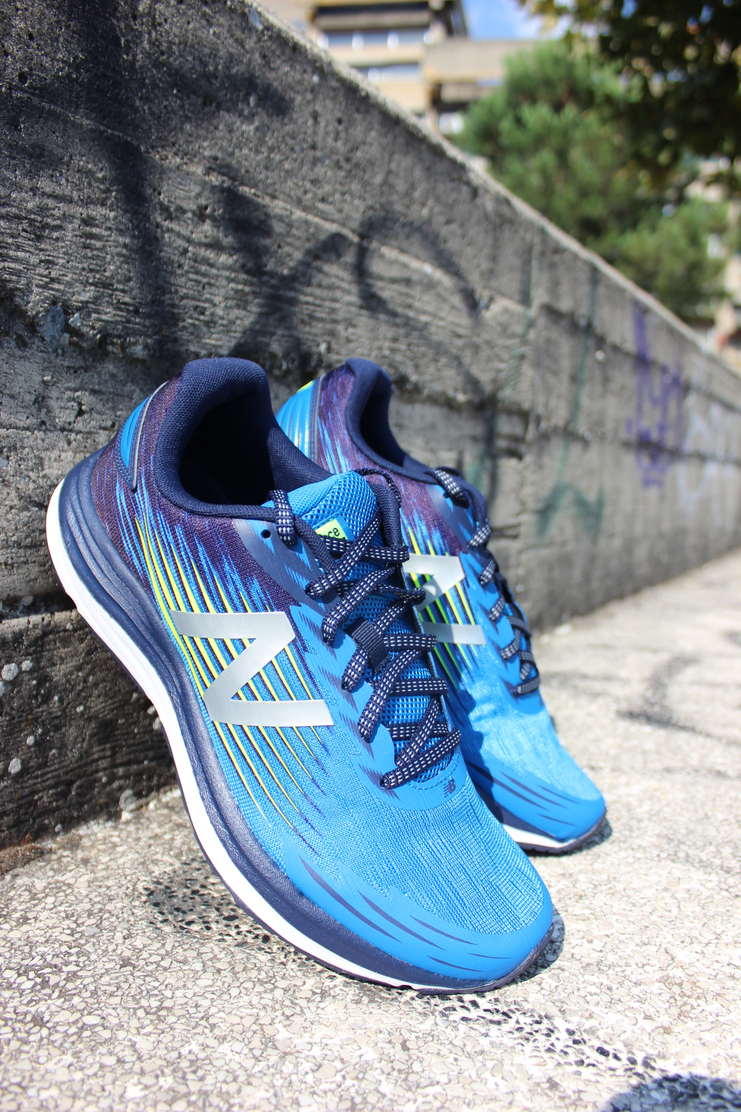 Corsa Running Synact Balance Trainers Shoes Uomo Blu New Sneakers Scarpe qEFRnwf