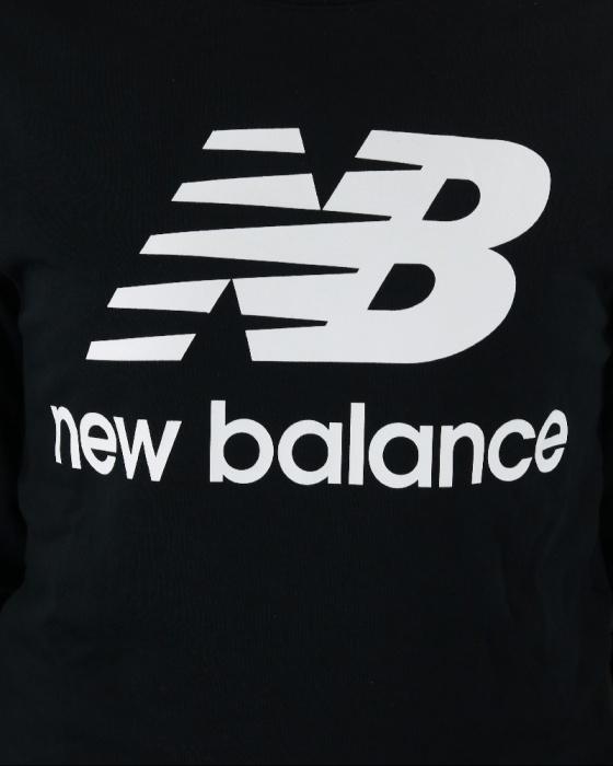 New Balance Essentials Stacked Logo Kapuzenjacke Herren NEU Hoodie