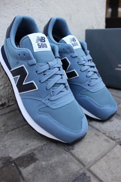 new balance gm500 bleu