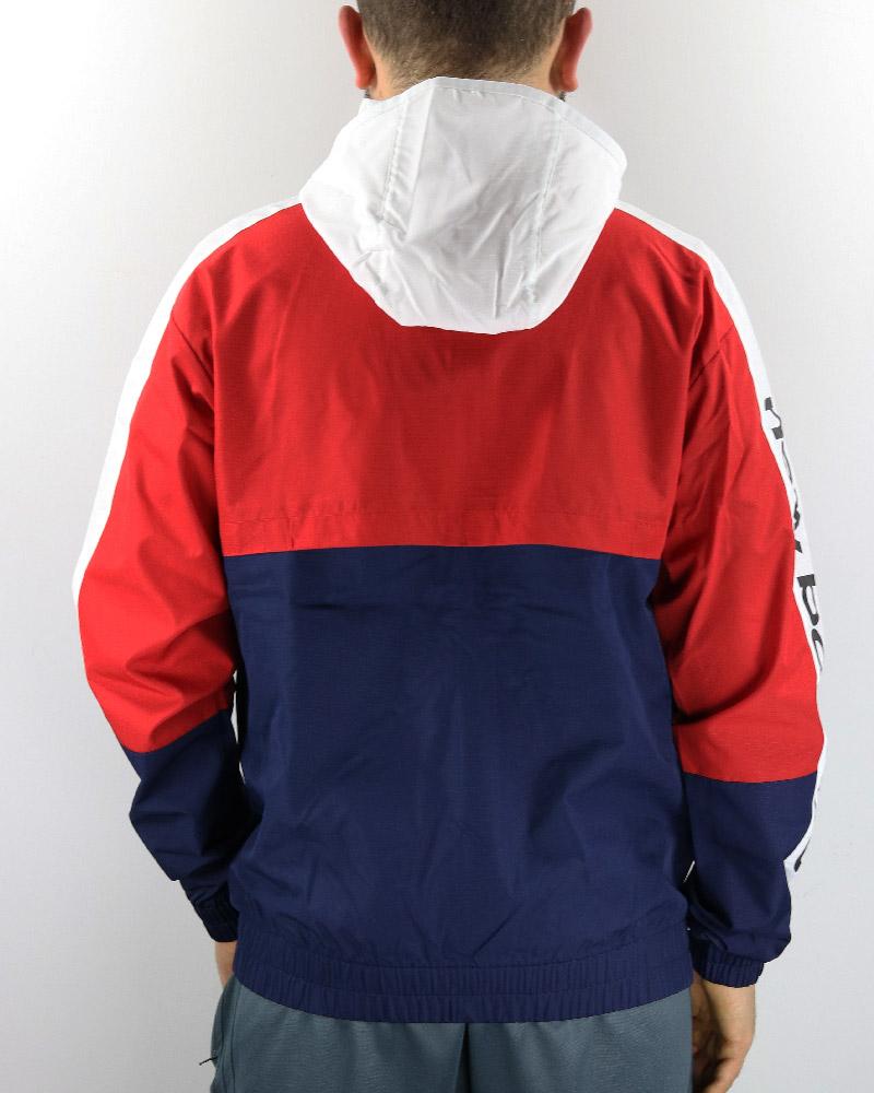 plus récent 2d752 059a5 Détails sur New Balance ATHLETICS WINDBREAKER Sport Jacket Veste Blue 2019  poches zippées