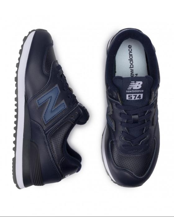 new balance 574 sport blu