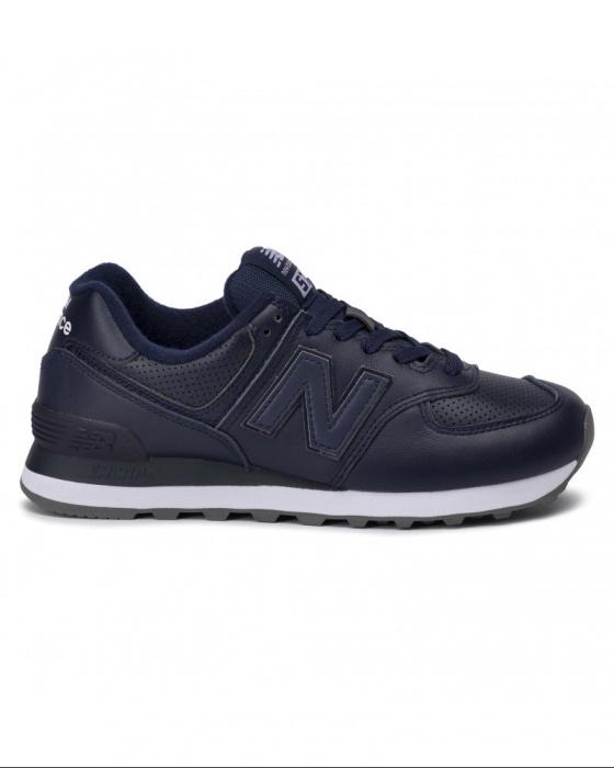 new balance 574 uomo sport blu