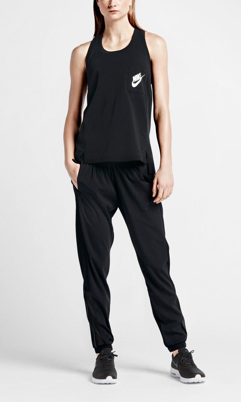 bffac09874eb Signal Nike Training Shirt sleeveless tank top Woman Black
