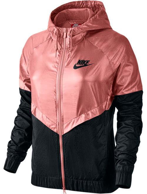 Nike jacke schwarz pink