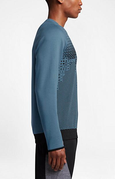 51dcc1461fe8 8 of 10 International Crew Nike Sport sweatshirt Men SMOKEY BLUE cotton