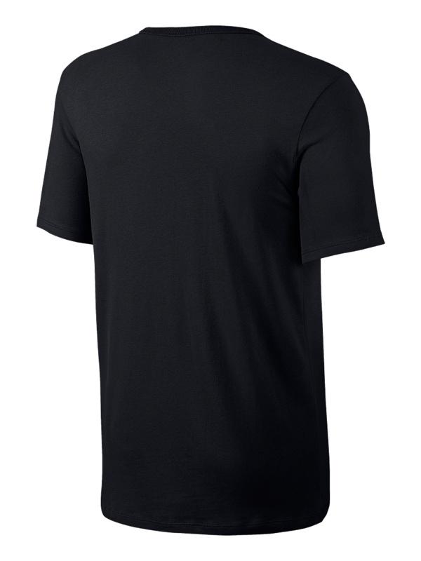 Dettagli su Nike Maglia Maglietta T shirt tempo libero Nero Rosso Sportswear Futura Icon