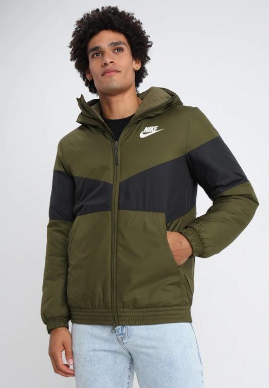Nike bomber coat Down Bubble Padded Jacket Sportswear Synthetic Fill Green | eBay