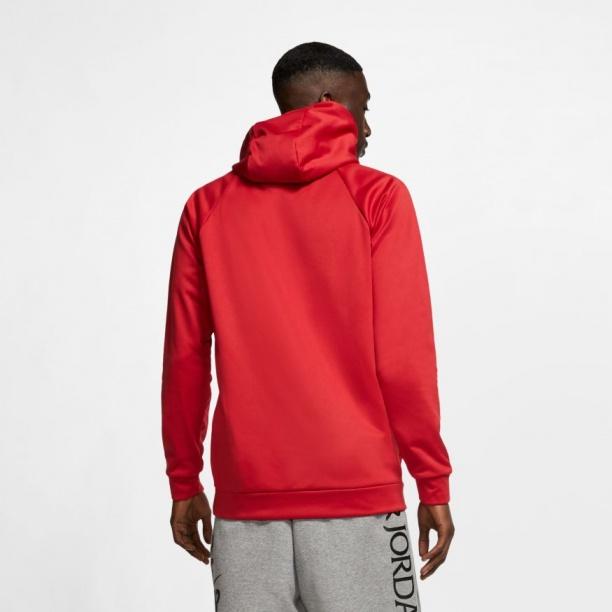 Nike Jordan Therma 23 Alpha Kapuzen Hoodie Pullover Herren Kapuzen Rot 2020