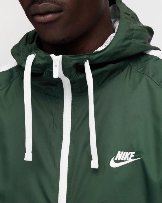 Nike Tuta Sportiva Tracksuit apertura Full zip Sportswear Woven Hoodie Verde | eBay