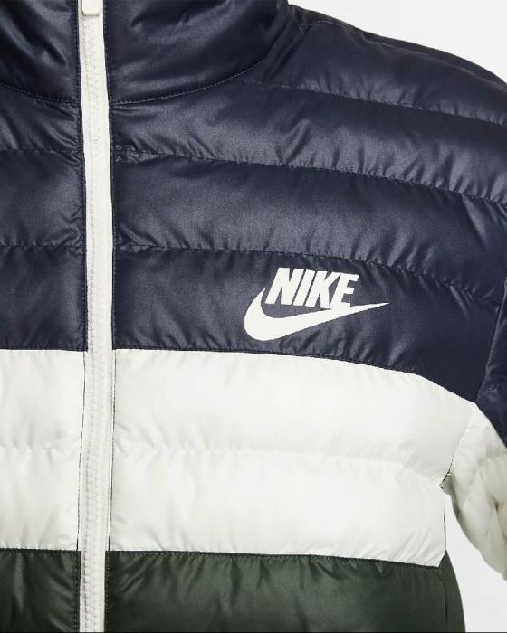 Doudoune légère Nike pour homme Fill Bubble Couleurs au choix