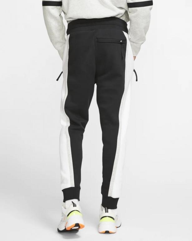 Nike Pantaloni tuta Pants Sweat Air Fleece Nero con TASCHE a ZIP Uomo Cotone | eBay