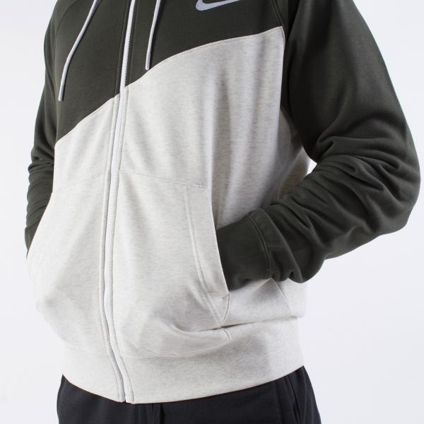 Détails sur Nike Sport Jacket Veste coton Sportswear Swoosh Hoodie FZ