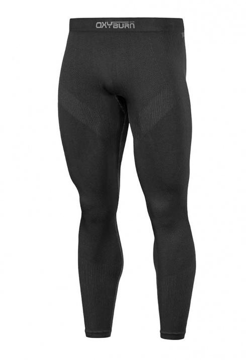 Swell Termica Da Uomo Pantaloni Leggings-Nero Tutte le Taglie