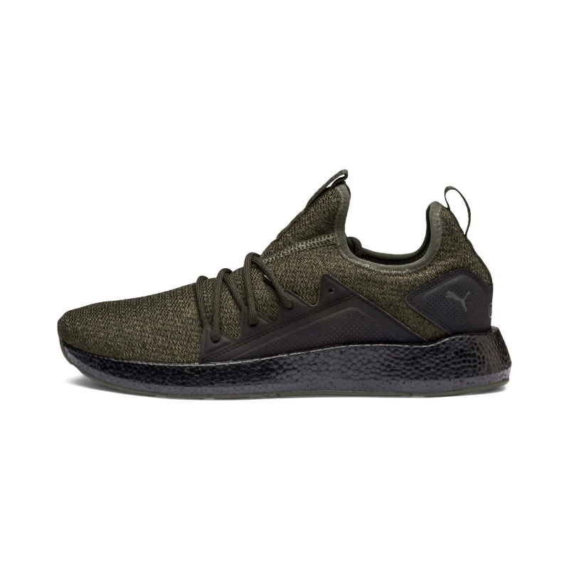 new style 5ab5d c14ee ... Scarpe Sportive Sneakers Puma NRGY Neko Knit Originale Uomo Verde -  Sport Shoes Sneakers Puma NRGY ...