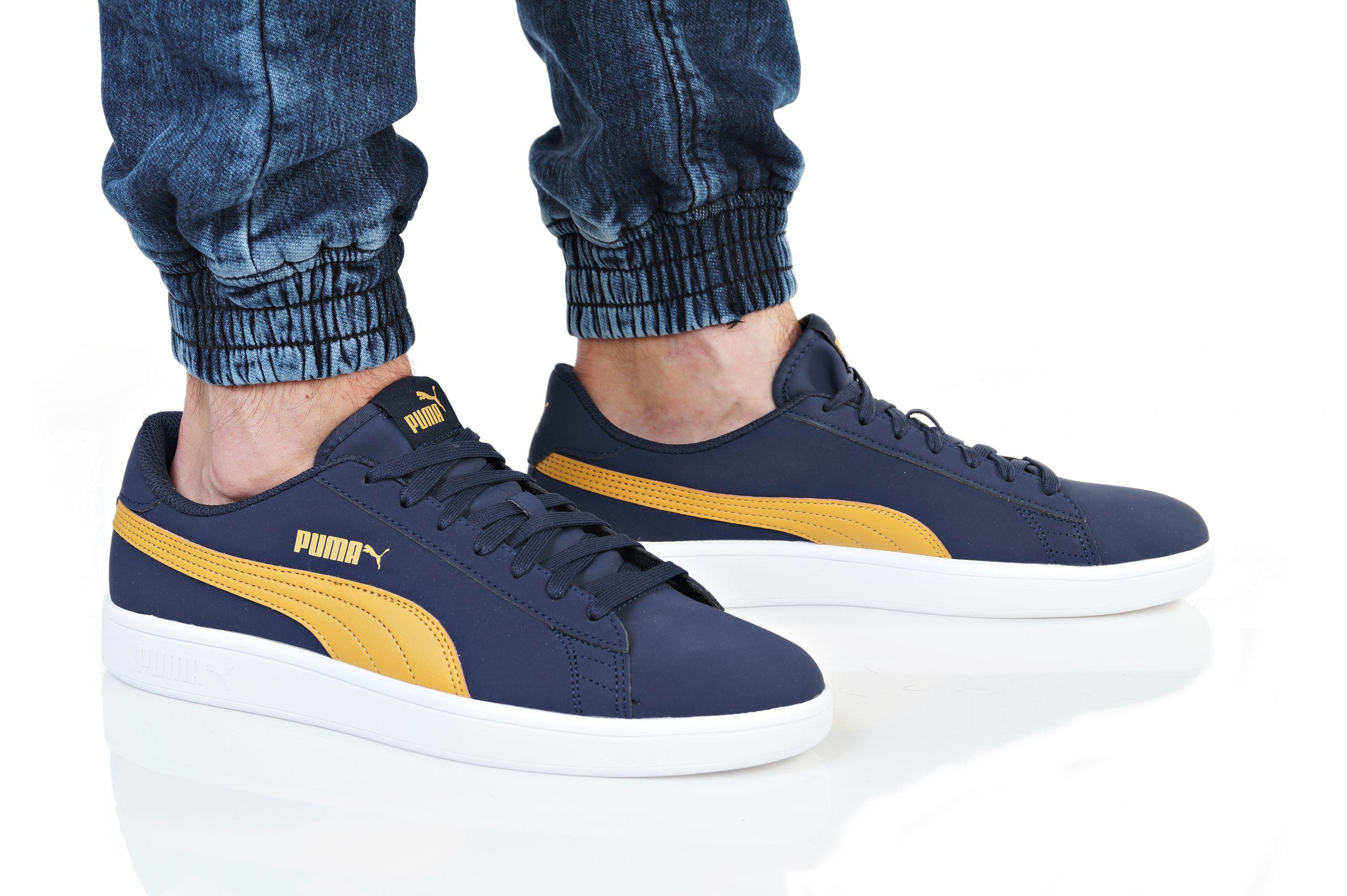 7cd157144029af Puma Shoes Sneakers Sports Smash v2 Buck Peacoat Blue Nubuck