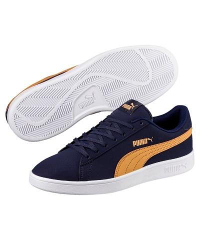 Blue Peacoat Shoes Sneakers NubuckEbay Sports Puma V2 Buck Smash ChQrdBsotx