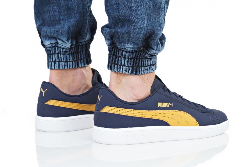 843760448a65 ... Sports shoes Sneakers Puma Smash v2 Blue Sport Shoes Puma Sneakers-men s  Peacoat Buck Smash